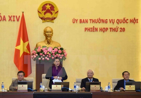 越南国会常务委员会第20次会议圆满闭幕 hinh anh 1