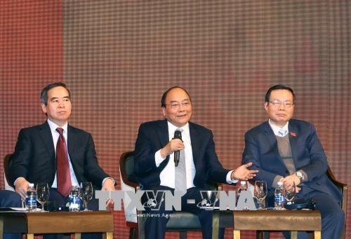阮春福:越南力争发展成为