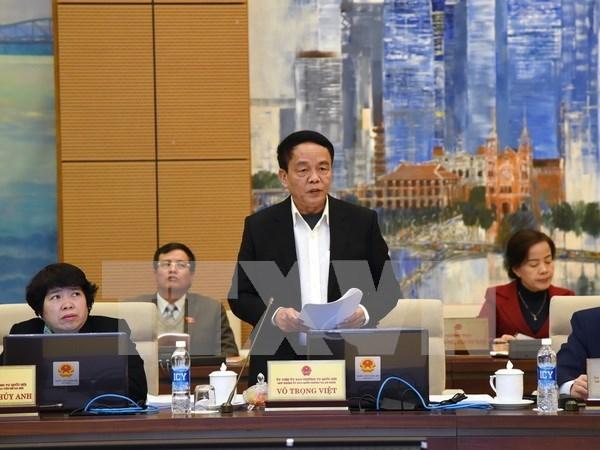 国会常务委员会就《网络安全法》和《国防法》草案(修正案)展开讨论 hinh anh 1