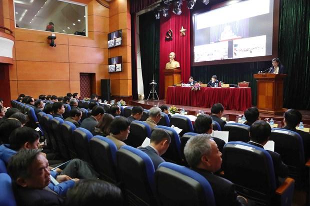 2018年文化体育与旅游工作部署会议在河内、岘港和胡志明市三地同步举行 hinh anh 2