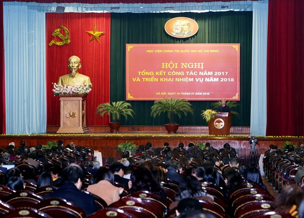 继续巩固和提高胡志明国家政治学院的地位 hinh anh 1