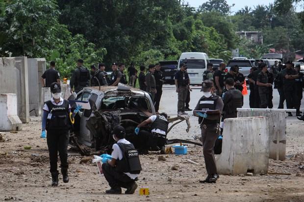 泰国南部炸弹袭击造成6名士兵受伤 hinh anh 2