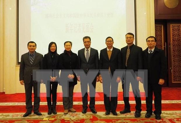 越南驻华大使邓明魁:两国贸易投资存在的问题将逐步得到改善 hinh anh 1