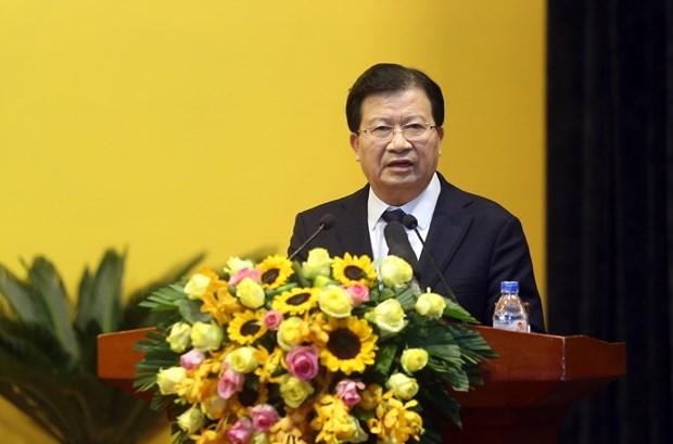 越南政府副总理郑廷勇:政府继续与越南油气集团并肩同行 hinh anh 2
