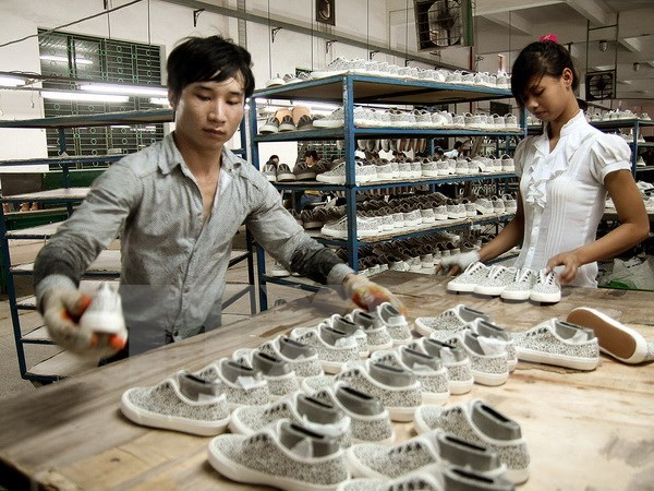 2018年越南皮革鞋类业力争出口额达到200亿美元 hinh anh 2