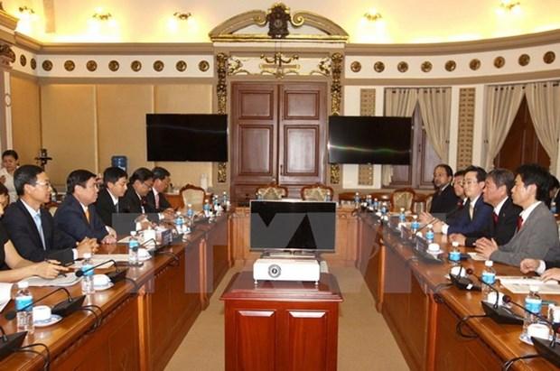 越南胡志明市与日本青森省加强高科技农业合作 hinh anh 1