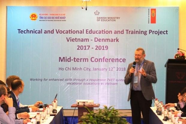 丹麦协助越南开展双元制职业教育 hinh anh 2
