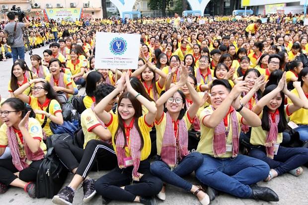 3万多名学生和大学生参加在胡志明市举行的春节志愿者活动 hinh anh 1