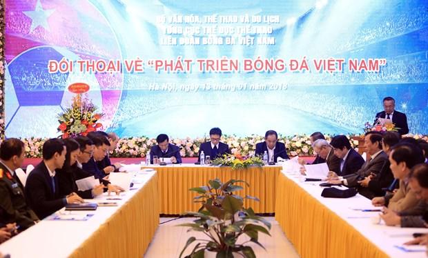 武德儋:体育部门需认真吸纳各方的意见建议 推动越南足球发展 hinh anh 2