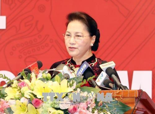 越南国会主席阮氏金银: 确保审计执法监督权力公开、规范、透明运行 hinh anh 1