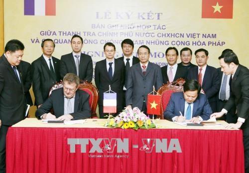 越南与法国加强反腐败合作 hinh anh 1