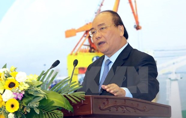 政府总理阮春福:推动国内贸易、进出口和工业生产领域朝着纵深方向发展 hinh anh 1