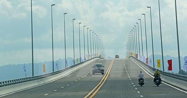 海防市将动工兴建新武—历县二号公路和大桥 hinh anh 1
