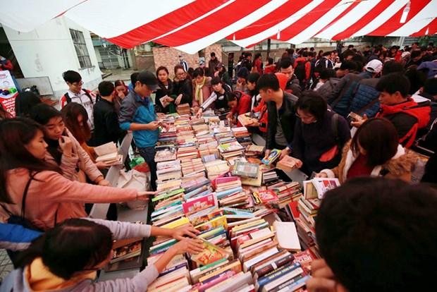 2018年1月河内市旧书展即将举行 hinh anh 1