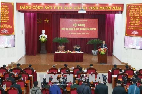 2017年监察工作有效展开 发现许多腐败违法行为 hinh anh 1