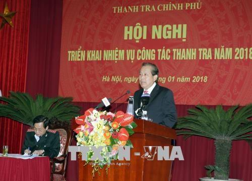 2017年监察工作有效展开 发现许多腐败违法行为 hinh anh 2