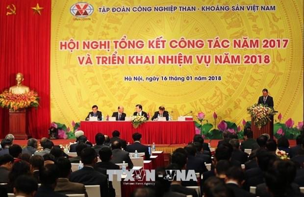 郑廷勇:越南煤炭矿产工业集团需进行全面重组 集中环保工作 hinh anh 1