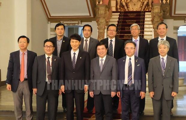 越南胡志明市与日本鹿儿岛县促进旅游和高科技农业领域合作 hinh anh 1