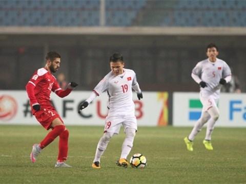 越南与叙利亚握手言和 晋级U23亚洲杯1/4决赛 hinh anh 1