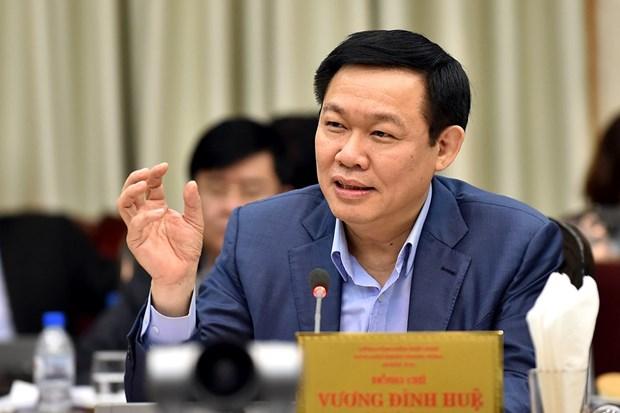 王庭惠副总理:抓紧成立国有资产管理委员会 hinh anh 1