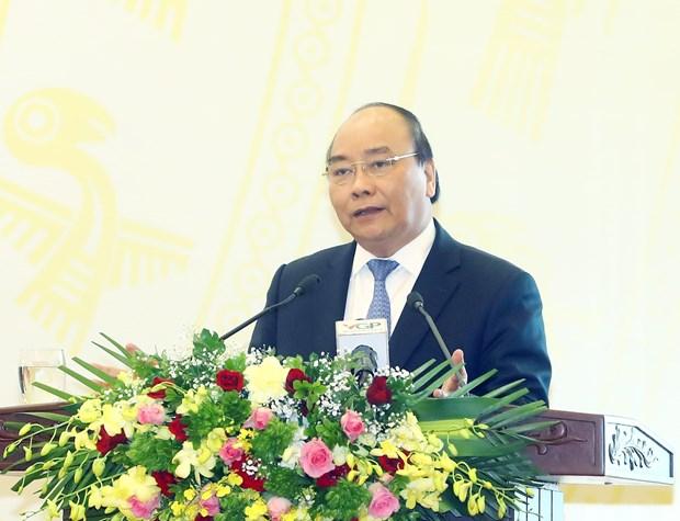 阮春福总理:政府办公厅加强参谋工作 寻求生产力发展的余地和释放空间 hinh anh 2