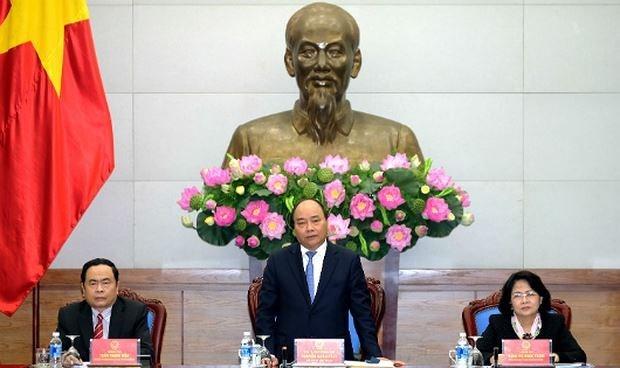 阮春福总理:竞赛奖励工作应以人民为中心 hinh anh 1