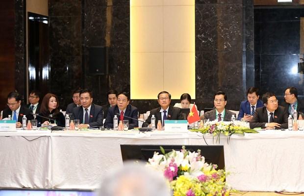 各国议会代表高度评价亚太议会论坛第26届年会的主题 hinh anh 2