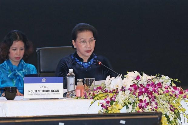 各国议会代表高度评价亚太议会论坛第26届年会的主题 hinh anh 1