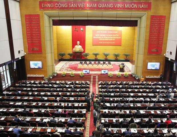 越共中央组织部召开2018年全国党建工作部署会议 hinh anh 4