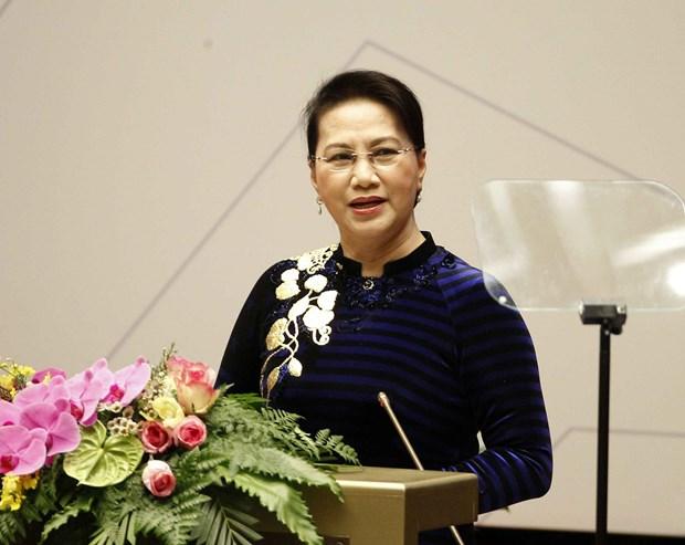 亚太议会论坛第26届年会通过会议议程及活动计划 hinh anh 1