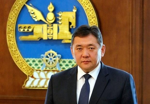 蒙古国家大呼拉尔主席米耶贡布对越南进行正式访问 hinh anh 1