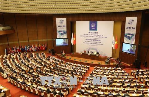 国际代表团高度评价APPF26东道国越南的筹备工作 hinh anh 1