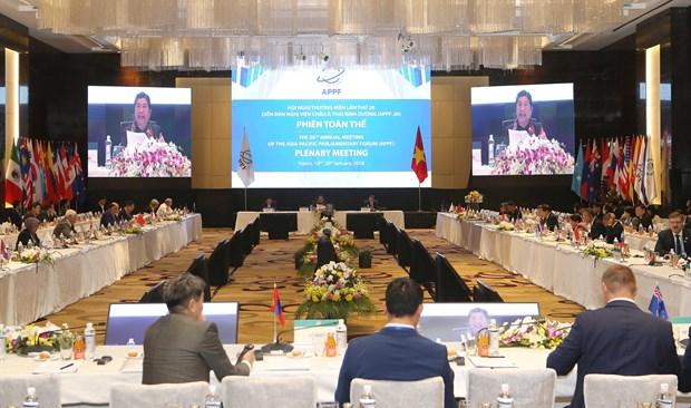 APPF第26届年会:致力于地区乃至全球繁荣昌盛与可持续发展 hinh anh 3