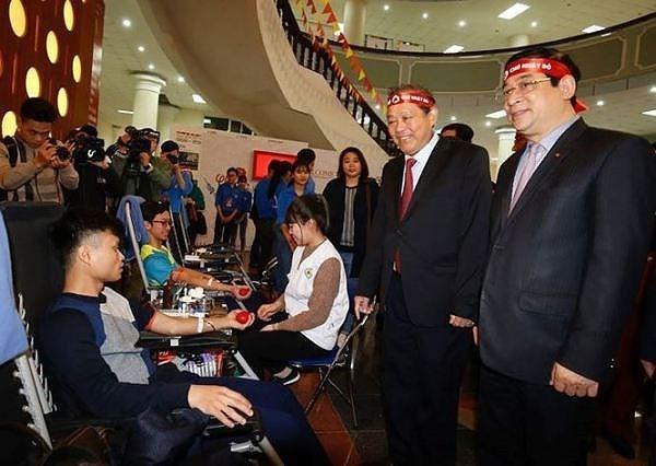 """政府常务副总理张和平:""""红色星期日""""是富有人文性的活动 hinh anh 1"""