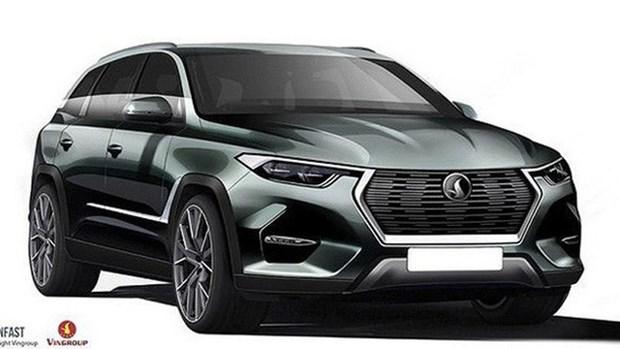 VinFast汽车今年10月推出首两款车型 hinh anh 1