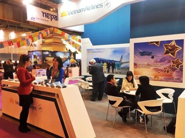 越南航空总公司在西班牙加大形象推广力度 hinh anh 1