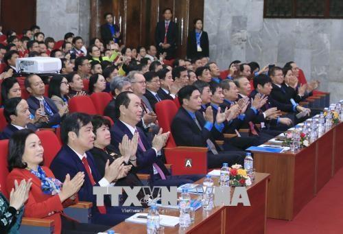 国家主席陈大光出席模范基层工会主席表彰大会 hinh anh 2