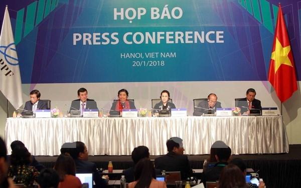 亚太议会论坛第26届年会结果的新闻发布会在河内召开 hinh anh 1