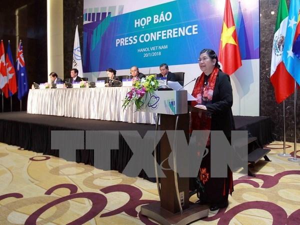亚太议会论坛第26届年会结果的新闻发布会在河内召开 hinh anh 2