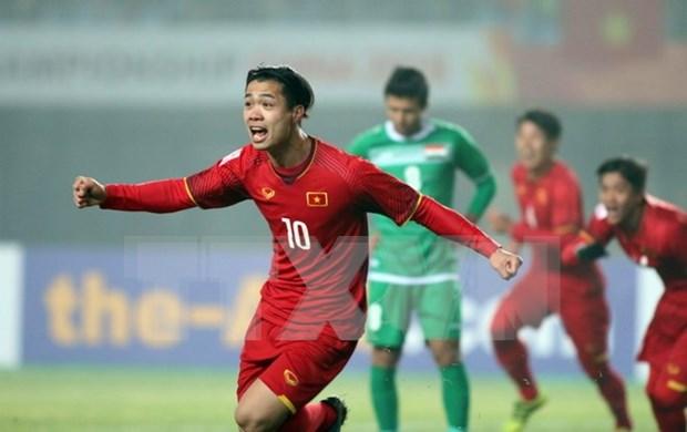 国际媒体纷纷报道越南U23球队击败伊拉克U23球队的信息 hinh anh 1