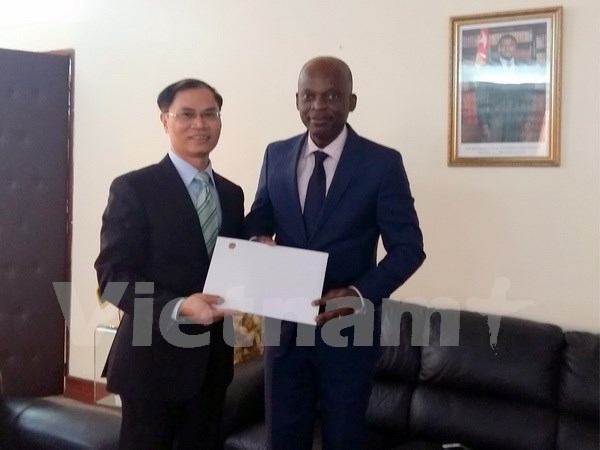 越南与多哥和乌干达加强合作关系 hinh anh 1