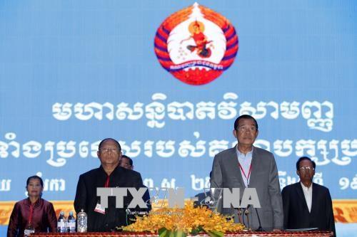 柬埔寨人民党召开特别大会 做出多项重要决定 hinh anh 1