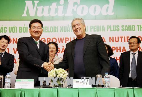 越南NutiFood产品将在美国300家超市上架出售 hinh anh 1