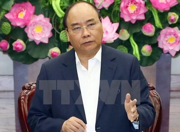 政府总理指导各部委行业和地方集中实现2018年经济社会任务 hinh anh 1