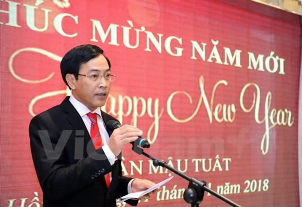 旅居香港越南人欢欢喜喜迎新年 hinh anh 1