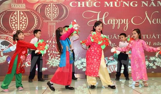 旅居香港越南人欢欢喜喜迎新年 hinh anh 2