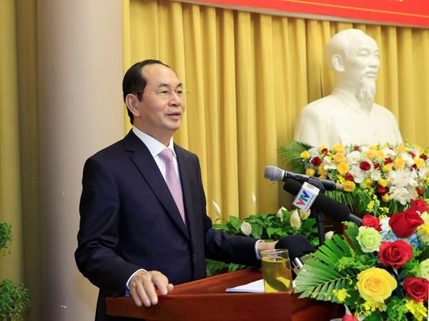 陈大光主席:国家主席办公厅应积极研究与应用电子政务 hinh anh 2
