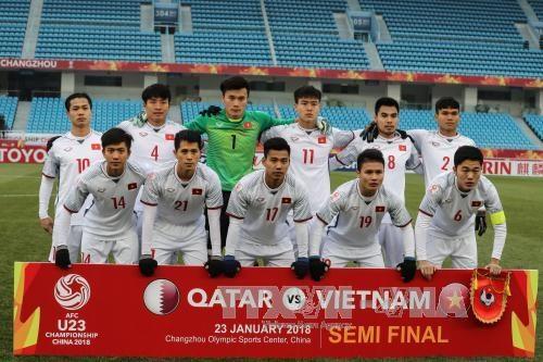 国家主席办公室建议向越南U23足球队授予勋章 hinh anh 1