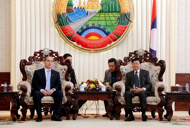 进一步加强胡志明市与老挝各地方的合作关系 hinh anh 2