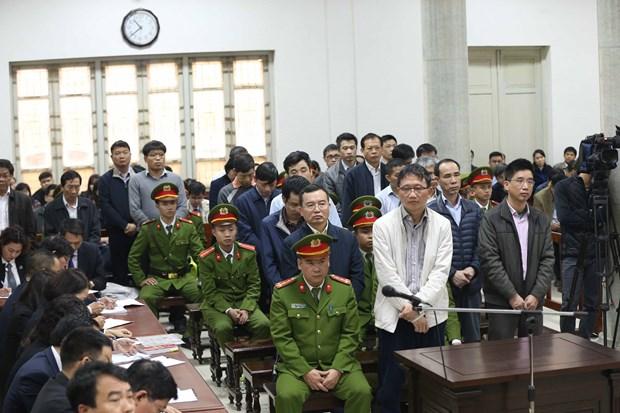 郑春青及其同案犯依法受审获刑:越南司法的改革印迹 hinh anh 1